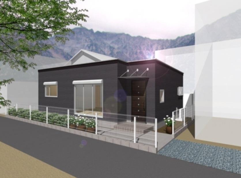むだを省いたシンプルな木造平屋の家