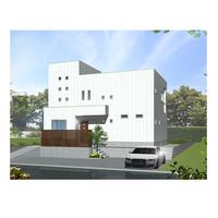 重量鉄骨2.5階建住宅 完成見学会