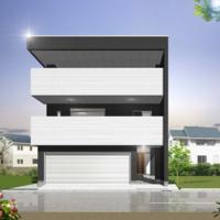 重量鉄骨3階建て住まいの構造見学会