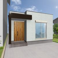 ミニマムな暮らしを叶える木造平屋の家
