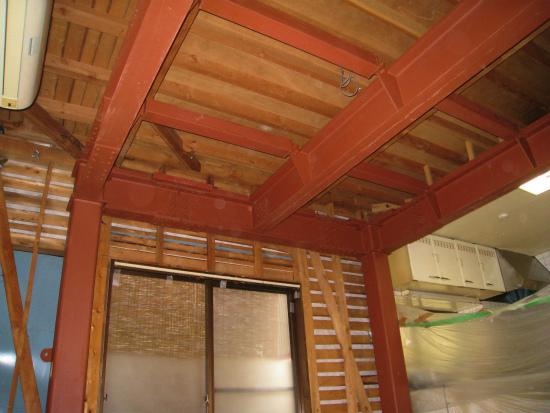 【木造耐震リノベーション】重量鉄骨で木造住宅を耐震シェルターに 静岡市清水区