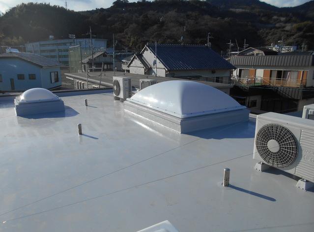 【リノベーション】 重量鉄骨の屋上ベランダをリフォーム 静岡市清水区