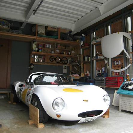 大好きな車で遊ぶ!ガレージのある家で楽しむ 静岡市