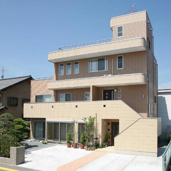 屋上テラス付3階建て2世帯住宅 静岡市駿河区