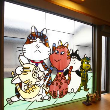 ねこちゃんのいる住まい 静岡市清水区 重量鉄骨2階建