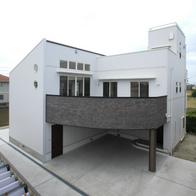 地震と津波から命を守る住まい 焼津市 重量鉄骨2階建