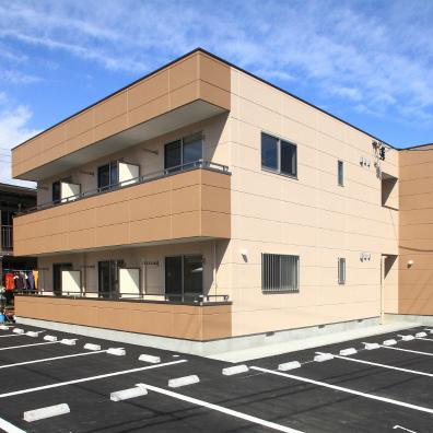 安全で安心。快適に住める賃貸住宅  重量鉄骨2階建 静岡市清水区村松