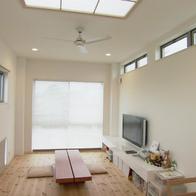 間口1.8間でも明るく開放的なナチュラルハウス 静岡市清水区