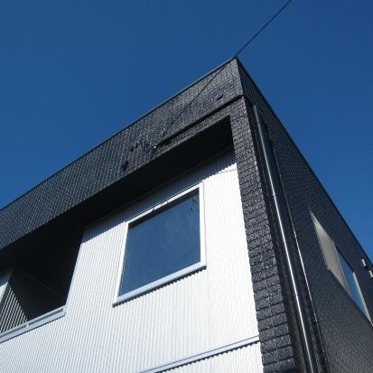 男前なデザインだけど、にゃんこと一緒に住む甘辛コーデの家 静岡市清水区
