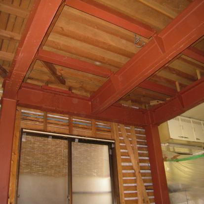 【リノベーション】重量鉄骨で木造住宅を耐震シェルターに 静岡市清水区