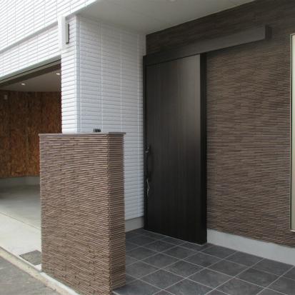 三角形の土地を有効利用した、高気密・高断熱の重量鉄骨3階建ウエルネス 静岡市葵区