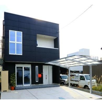 「仕事」と「住まい」の理想的なかたち 重量鉄骨3階建事務所付住宅 静岡市葵区