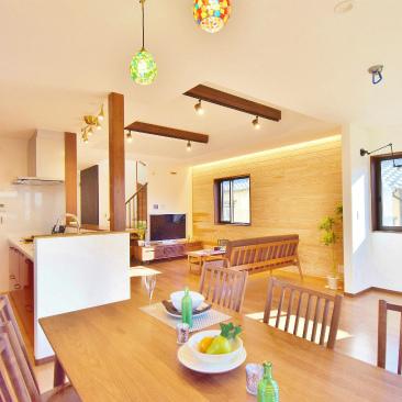 全館空調 エアコン一台で暖かい、しっかりしっとり空気サラサラ ファースの家 静岡市清水区
