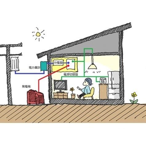 災害時でも安心して電源確保ができる住まい。災害時の非常用電源と安価な感震ブレーカーのご案内