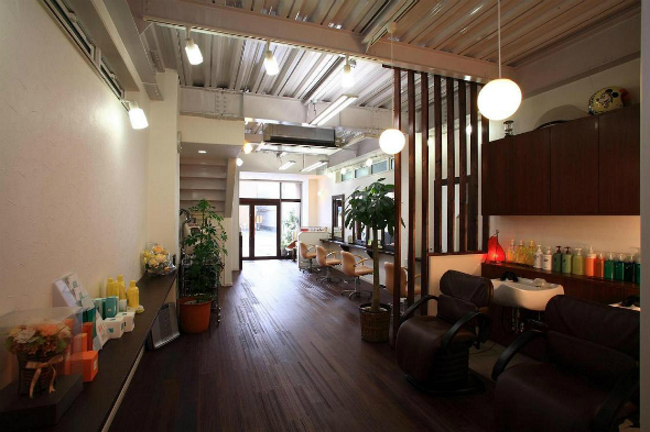 こだわり美容院併用住宅 静岡市清水区 重量鉄骨3階建