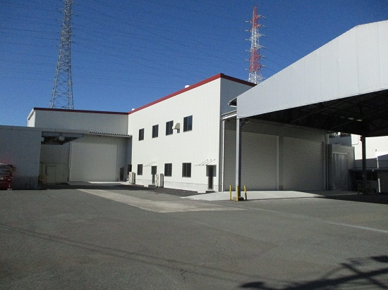 重量鉄骨だから出来た大空間で耐震性のある工場 静岡市清水区